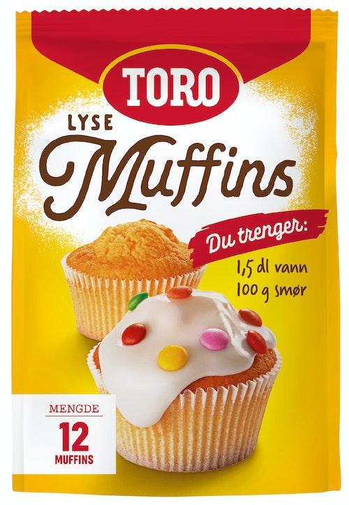 Toro Muffins Mix Lyse muffins, 331 g