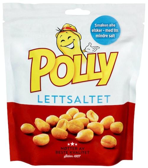 Polly Polly Peanøtter Lettsaltet 300 g