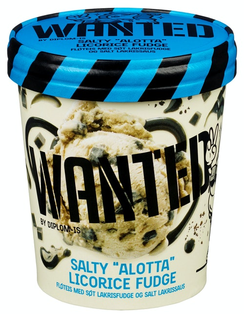 WANTED WANTED Salty Licorice 0,5 l