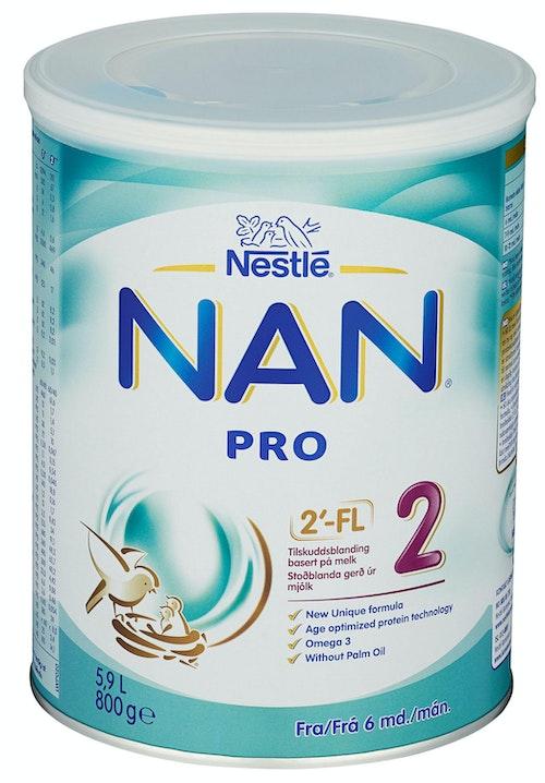 Nestlé NAN Pro 2 Fra 6 mnd, 800 g