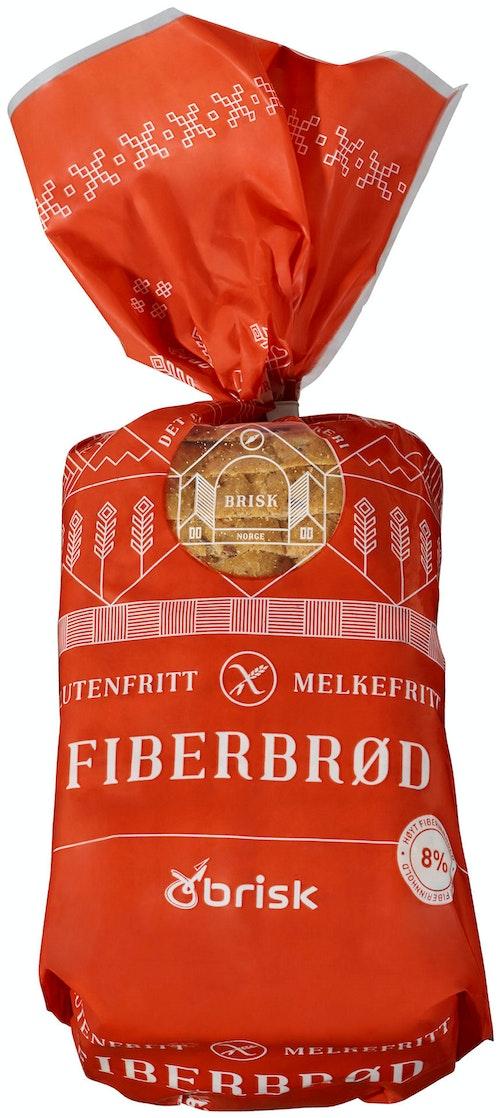 Brisk Glutenfri Fiberbrød 600 g