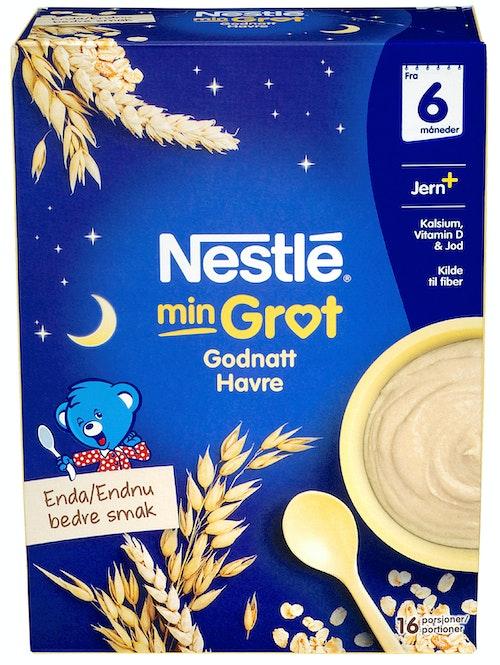Nestlé Min Grøt God Natt Havre Fra 6 mnd, 480 g