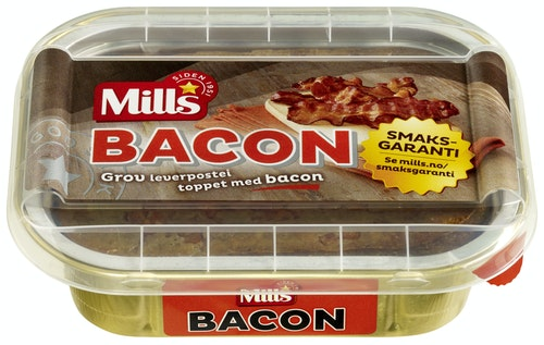 Mills Baconpostei 185 g