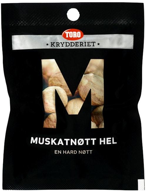 Toro Muskatnøtt Hel, 12 g