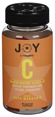 JOY JOY Nutrition C-vitamin Mandarin 60 stk