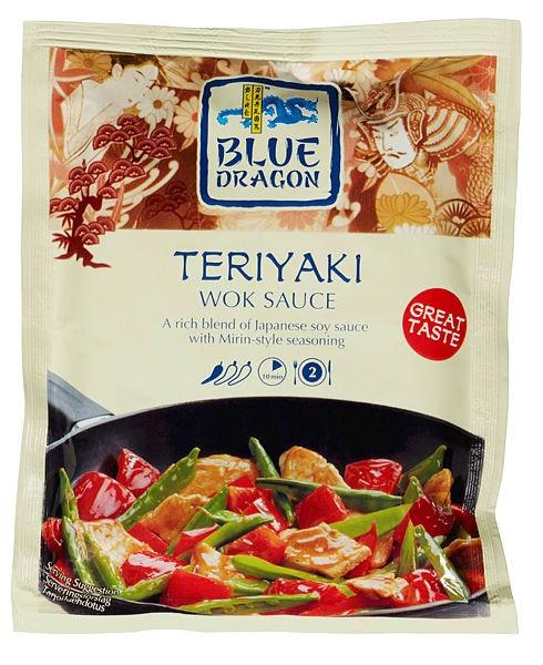 Blue Dragon Teriyaki Woksaus, 120 g