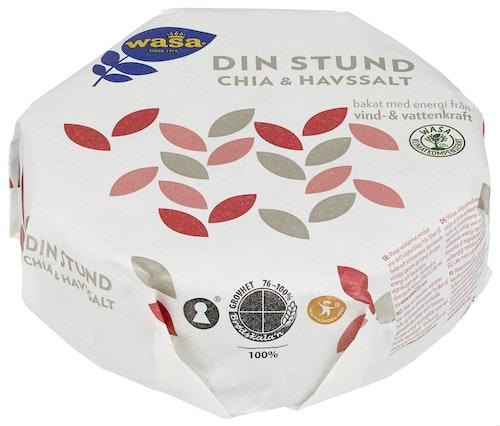 Wasa Din Stund Chia & Havsalt 260 g