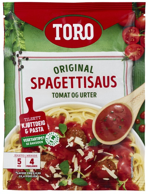 Toro Spaghettisaus Original 52,5 g