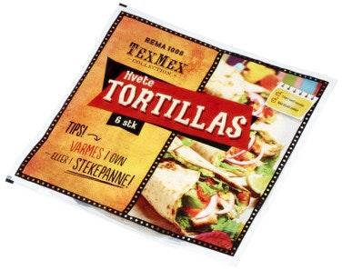 REMA 1000 Tortillas ca 25 cm