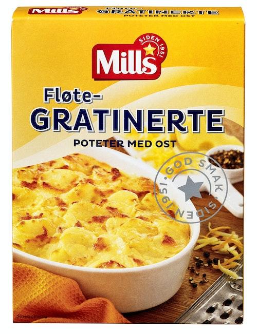 Mills Gratinerte Poteter Med Ost 113 g
