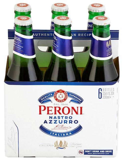 Peroni Nastro Azzurro 6 x 0,33l, 1,98 l
