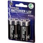 Batterier 1,5v D