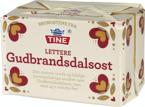 Tine Gudbrandsdalsost Lettere, 500 g