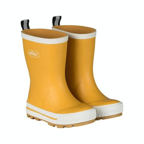 Reflex Gummistøvler gul Størrelse: 21, 1 stk