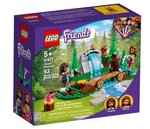 LEGO LEGO Friends - Fossefall i skogen 1 stk