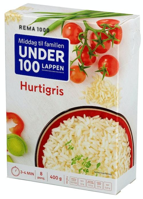 REMA 1000 Hurtigris Løsvekt 400 g