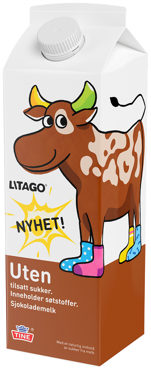 Tine Litago Uten Tilsatt Sukker, 1 l