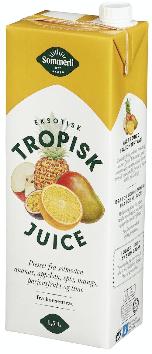 Sommerli Tropisk Juice 1,5 l