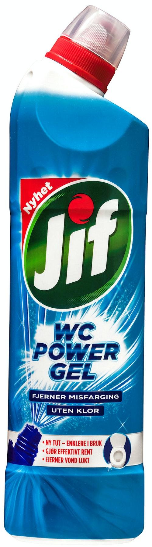 Jif Jif Wc Power Gel Uten Klor 750 ml