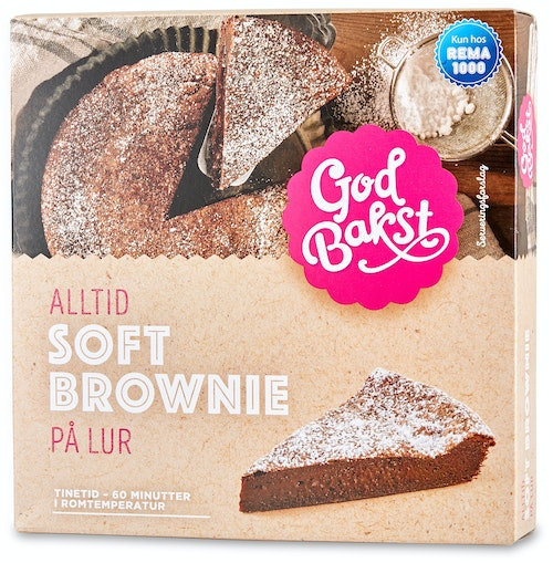 God Bakst Soft Brownie 410 g
