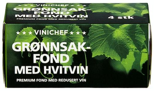ViniChef grønnsakfond med Hvitvin 4 stk