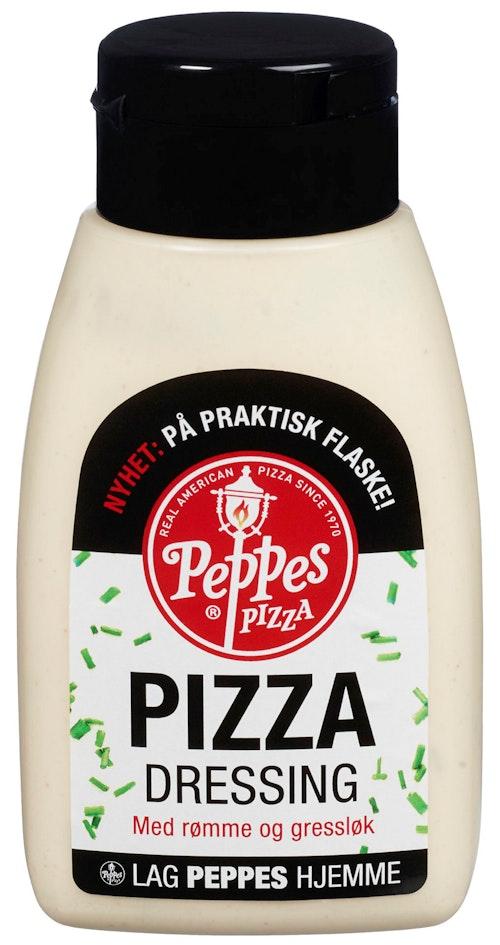 Peppes Pizza Peppes Pizzadressing Med Rømme & Gressløk, 210 g