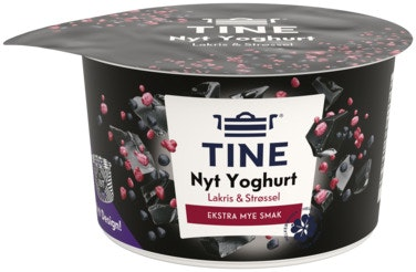 Tine Tine Yoghurt Nyt Lakris 127 g