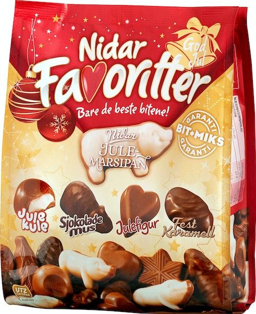Nidar Nidar Favoritter Jul 340 g