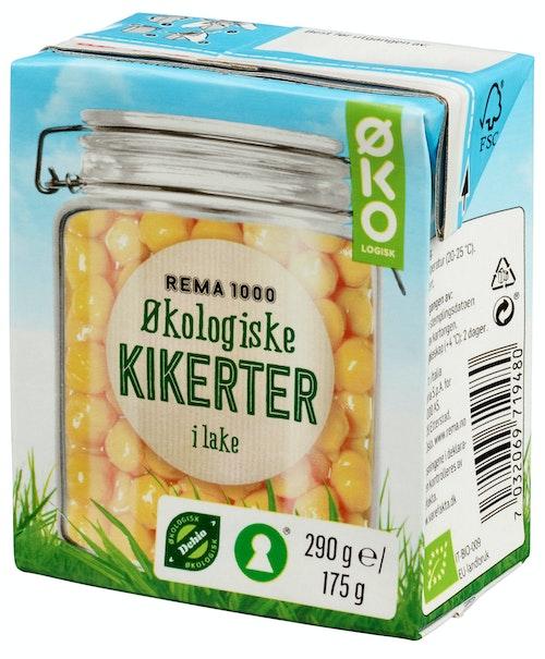 REMA 1000 Økologiske Kikerter 290 g