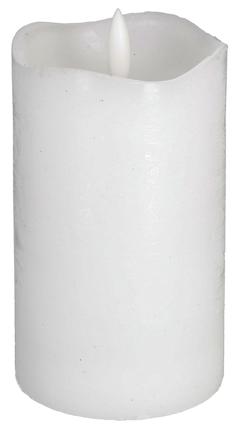 Northlight LED kubbelys med timer, medium Høyde 12,5cm, 1 stk
