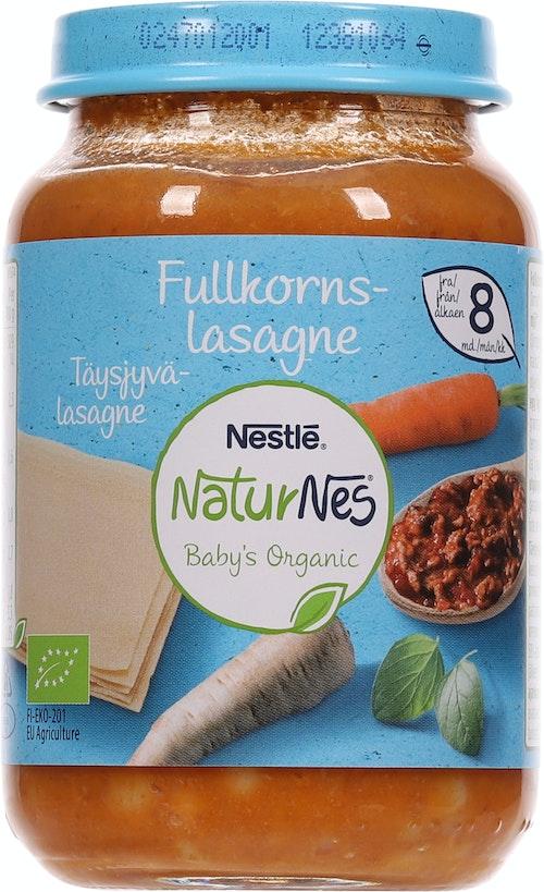 Nestlé Fullkorn Lasagne Økologisk Fra 8 mnd, 195 g