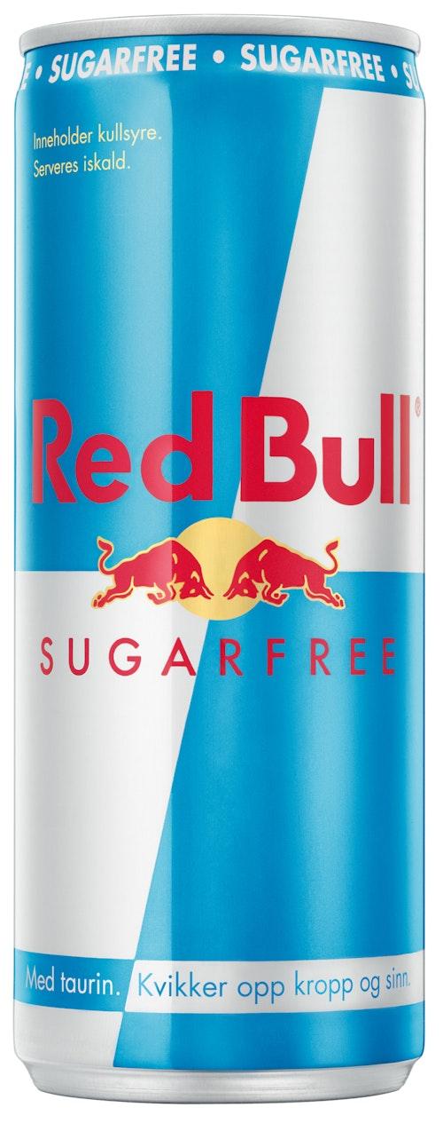 Red Bull Red Bull Energidrikk Sukkerfri 250 ml
