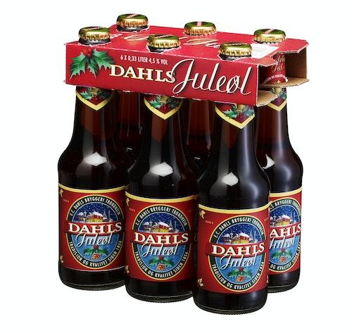 Ringnes Dahls Juleøl 6 x 0,33l, 1,98 l
