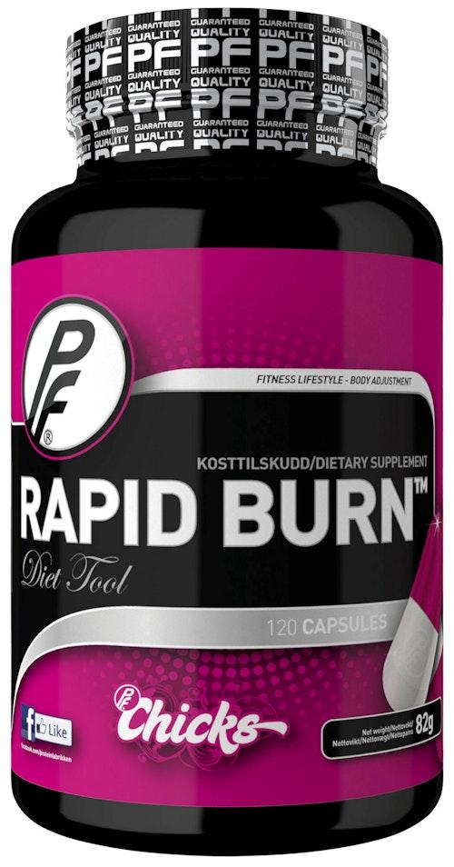 Proteinfabrikken Rapid Burn Kosttilskudd 120 stk