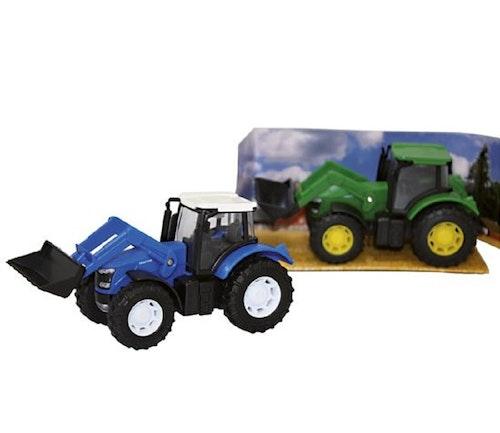 Keycraft Modellbil, Traktor med Gravearm Assortert farge, 1 stk