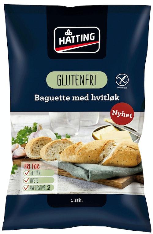 Hatting Glutenfri Baguette med Hvitløk 105 g