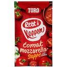 Tomatsuppe med Mozzarella
