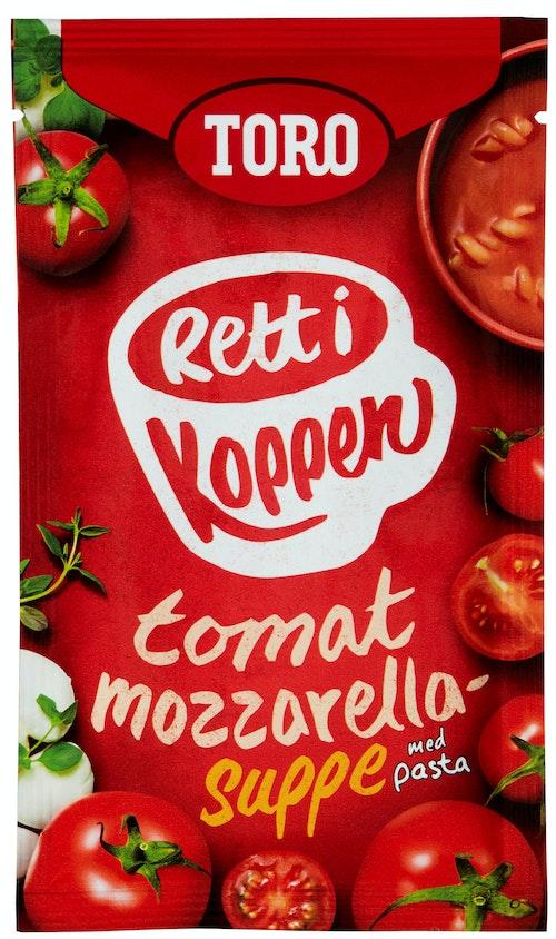 Tomatsuppe med Mozzarella Rett i Koppen, 26 g