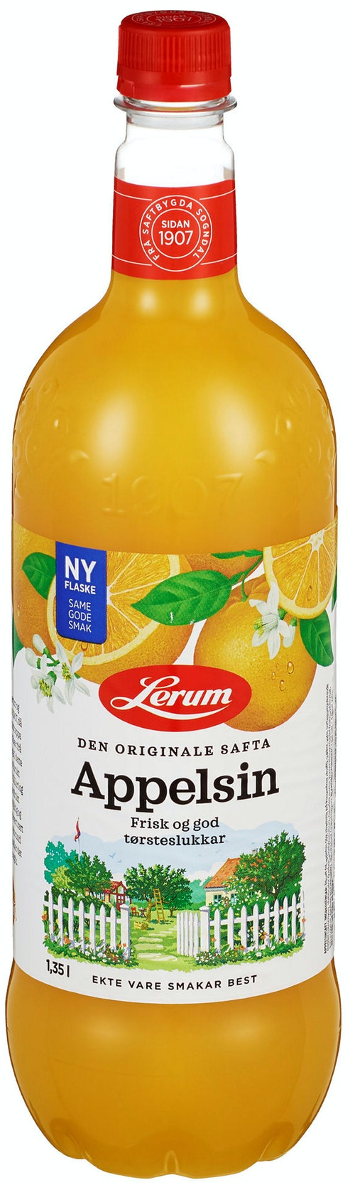 Lerum Lerum Appelsinsaft 1,35 l