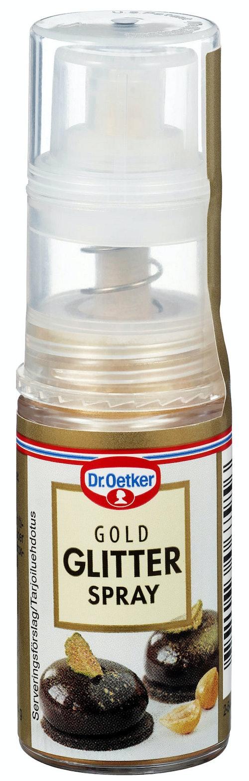 Dr. Oetker Glitterspray Gull, 4 g