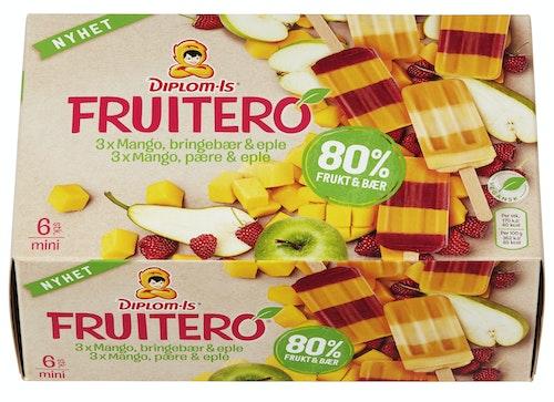 Diplom-Is Fruitero 80% Frukt og Bær 6 stk, 282 ml