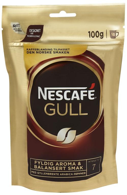 Nescafé Nescafé Gull 100g Refill, 100 g