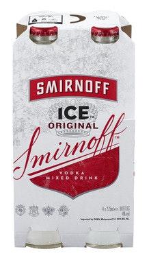 Smirnoff Smirnoff Ice Flaske 4 x 0,275l, 1,1 l