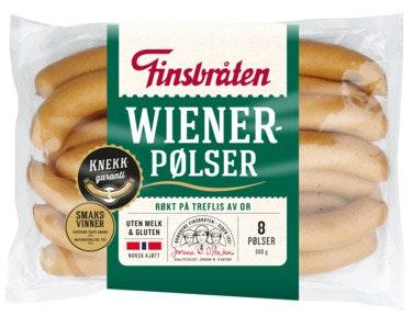 Finsbråten Wienerpølse 560 g