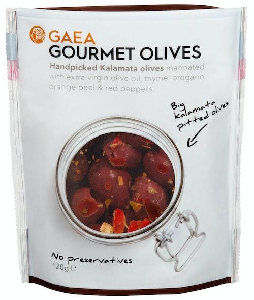 Gaea Gourmet Olives Kalamata 120 g