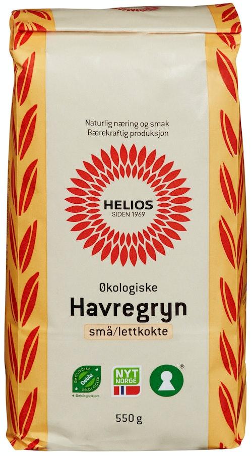 Helios Økologisk Havregryn Lettkokte, 550 g