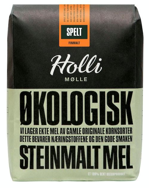 Holli Mølle Økologisk Speltmel Finmalt 1 kg