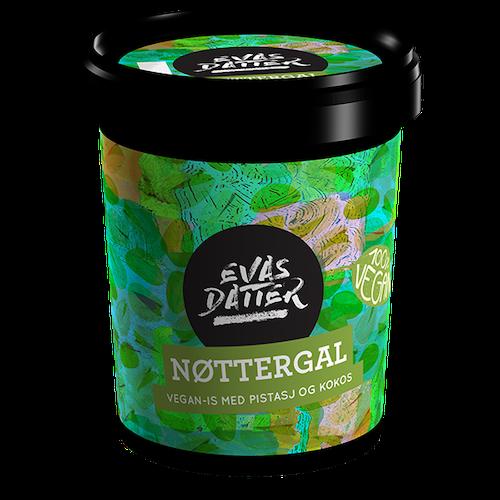 Evas Datter Nøttergal Med Pistasj & Kokos, 0,5 l