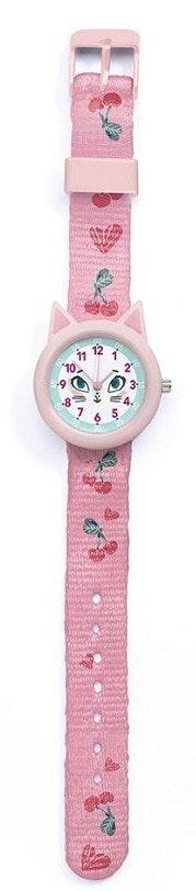 Djeco Armbåndsur med Kattemotiv 1 stk