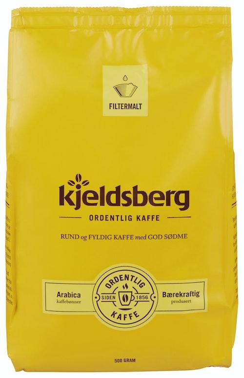 Kjeldsberg Kaffebrenneri Original Filtermalt Kaffe 500 g